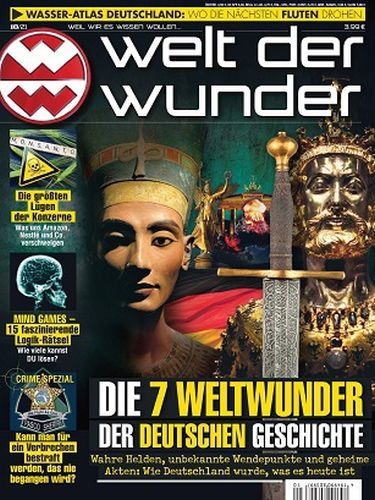 Cover: Welt der Wunder Magazin Oktober No 10 2021