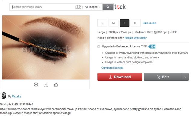 SS eyeliner
