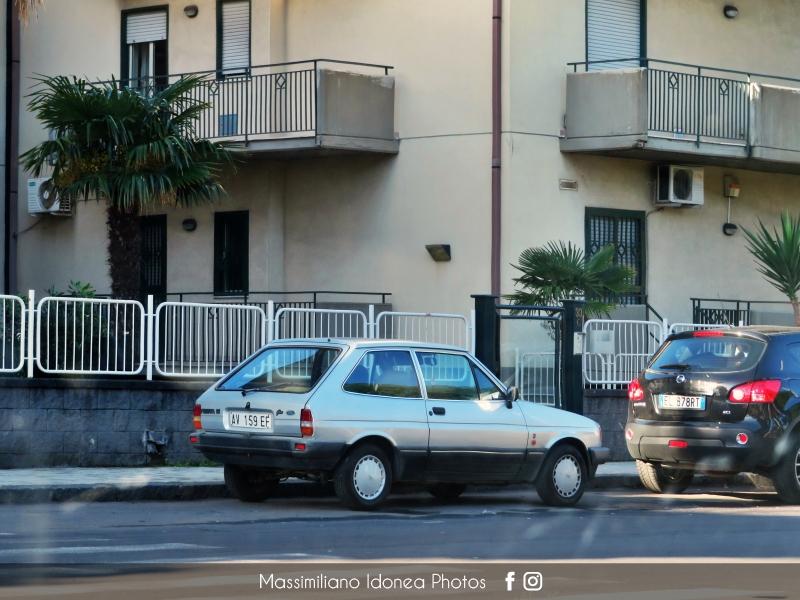 avvistamenti auto storiche - Pagina 38 Ford-Fiesta-Ghia-1-1-49cv-86-AV159-EF