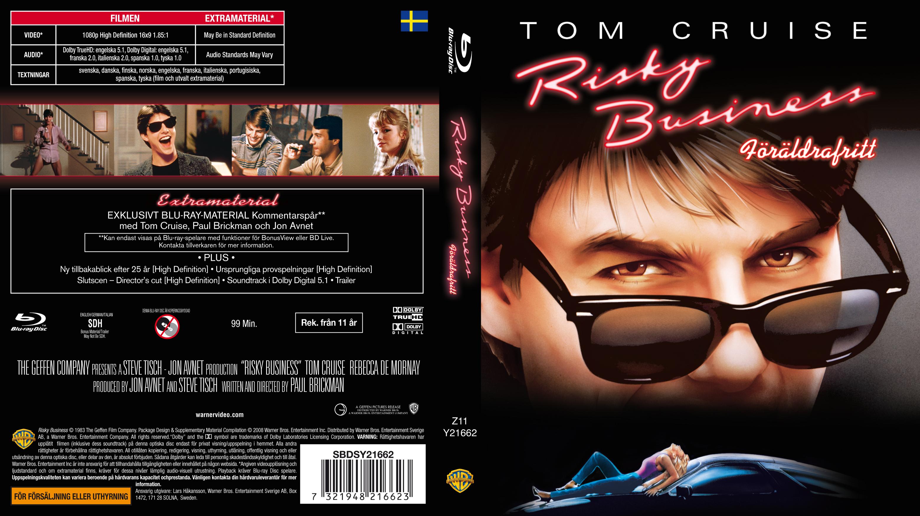 Risky Business (1983) x Extras x265 10 Bits 1080p