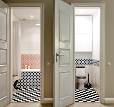 Как выбрать идеальную дверь для ванной комнаты