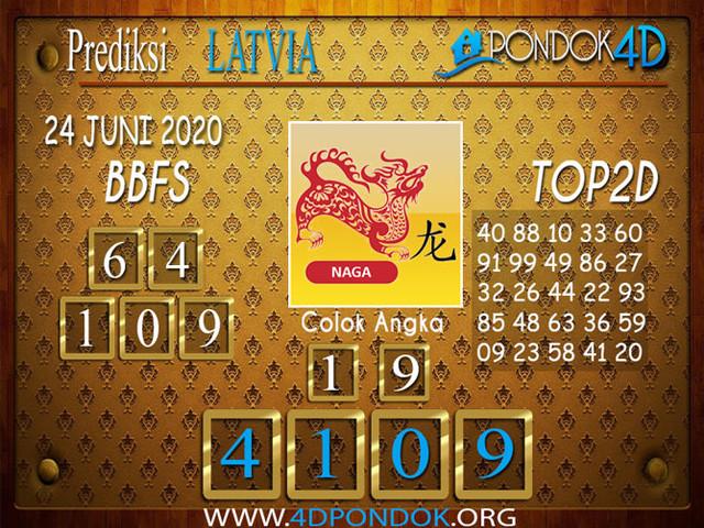 Prediksi Togel LATVIA POOLS PONDOK4D 24 JUNI 2020