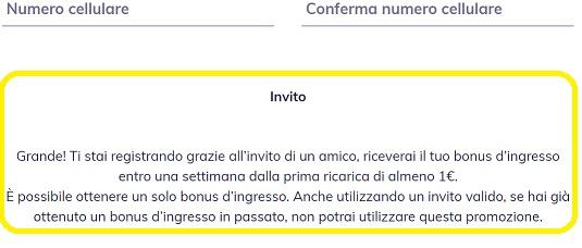 HYPE - 10€ o 15/25€ IN DENARO IN REGALO [promozione valida fino al 30/09/2020] Invito-Hypeavviso