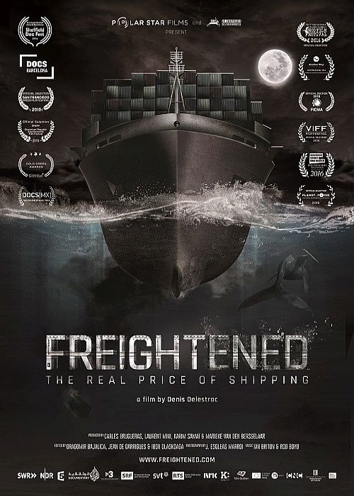 Transport morski - prawdziwe koszty / Freightened: The Real Price of Shipping (2016) PL.1080i.HDTV.h264-HcI Lektor PL