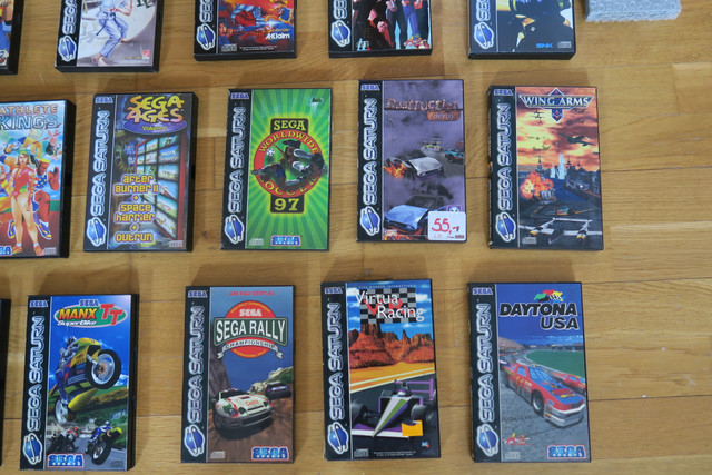 [VDS] Lot 16 Jeux Sega SATURN IMG-0105