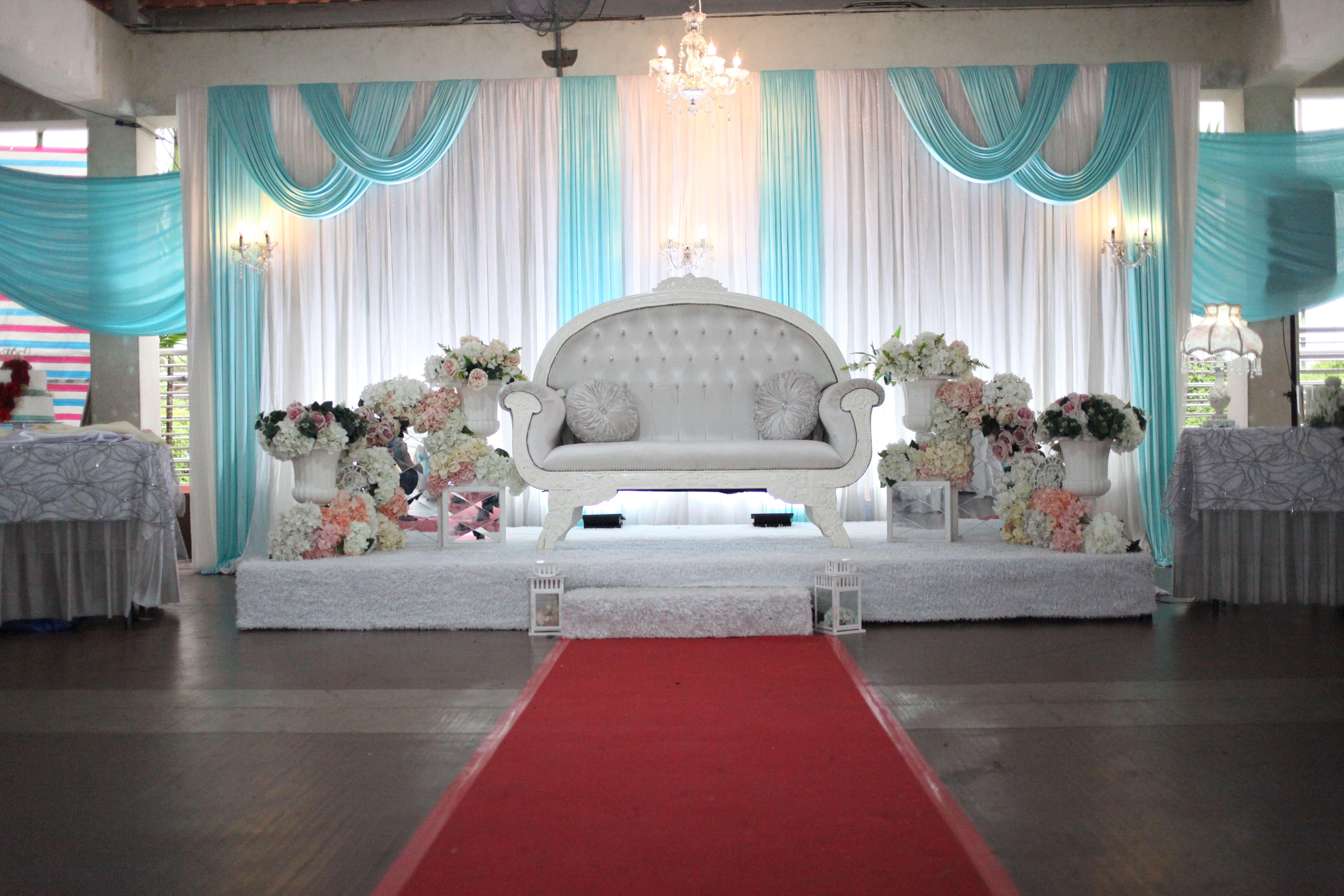 malay wedding decor