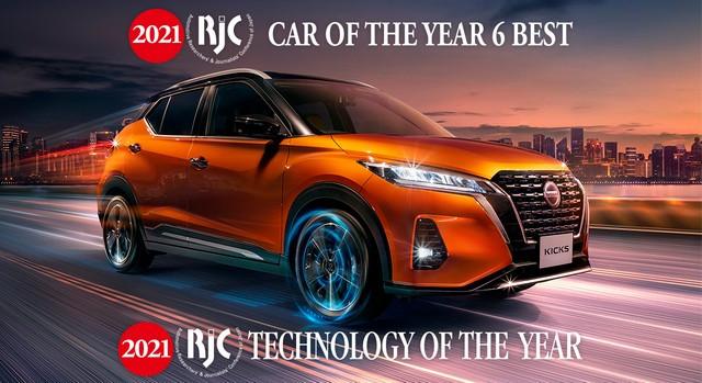 Technologie De L'année Pour Nissan Au Japon Avec La Motorisation e-POWER  201118-RJC-NR