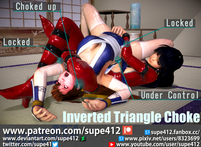 """Olivia """"Queen Bitch"""" Torres Rough-inverted-triangle-choke-by-supe412-ddhbyjn"""