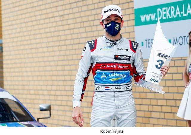 DTM – René Rast remporte le podium Audi au Lausitzring A204833-medium