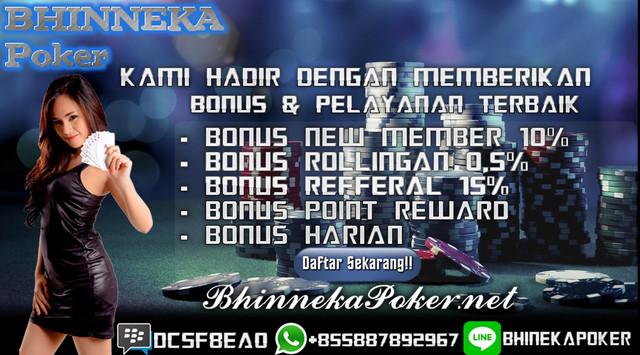 BhinnekaPoker.com | Agen Poker Online Terbaik dan Terpercaya New-5