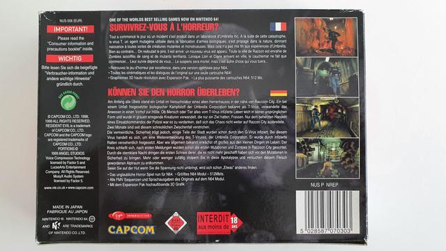 [VDS] 2x Resident Evil 64 complet FR/DE 20210321-141138