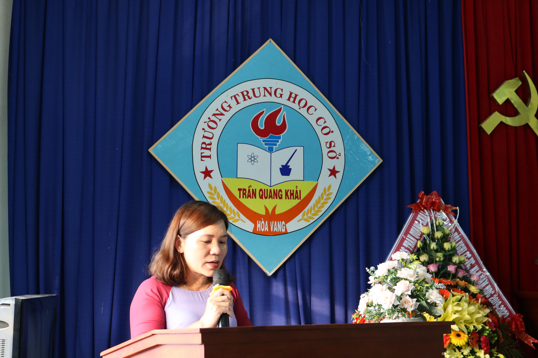 Buổi gặp mặt chia tay thầy, cô chuyển vị trí công tác năm học 2019 - 2020