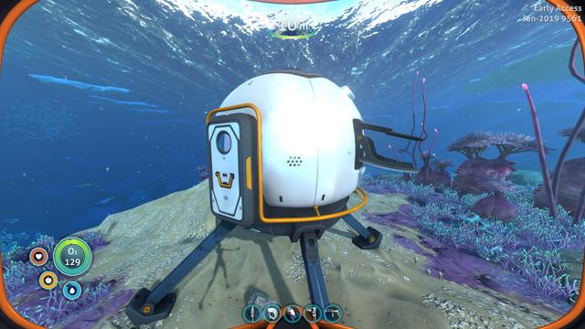 Subnautica: Below Zero - где найти и как оседлать светящихся китов