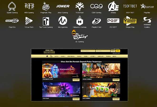 Provider Game Slot Terlengkap