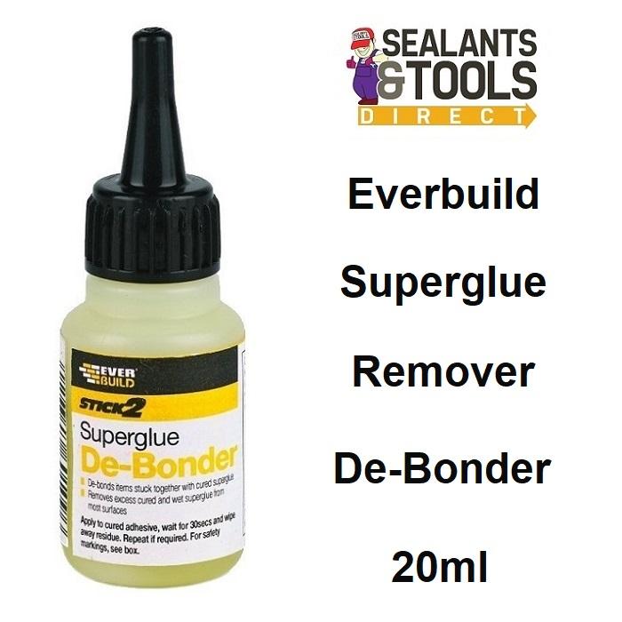 Everbuild Superglue Remover De Bonder DEBONDER