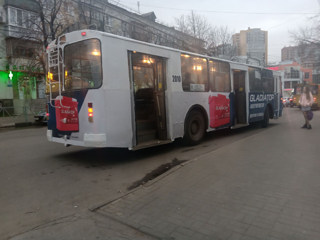 Брендирование троллейбуса для Рязанского аккумуляторного завода Tungstone