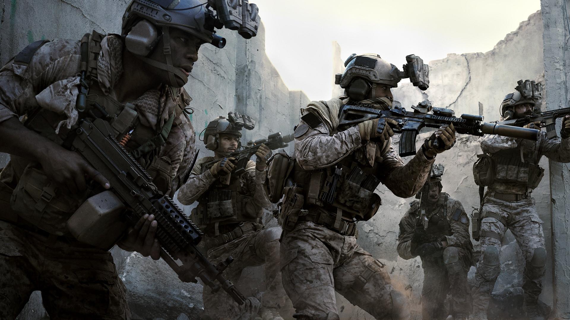 Mejores juegos gaming de guerra: Call of Duty Modern Warfare