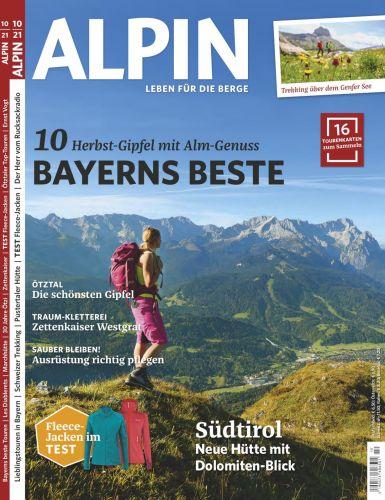 Alpin Das Bergmagazin No 10 2021