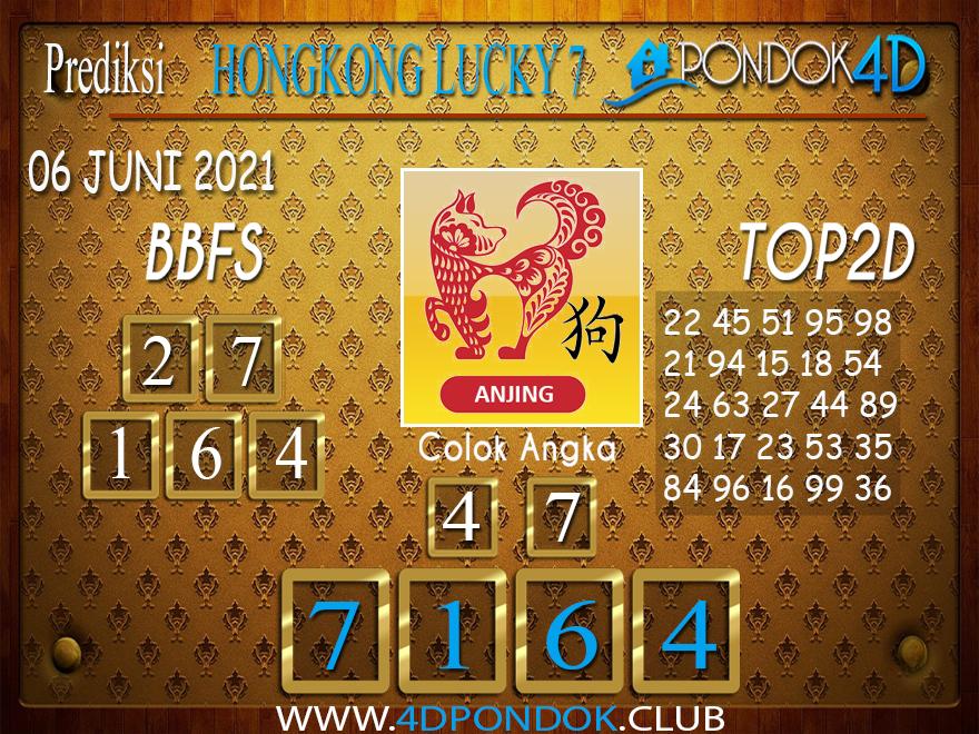 Prediksi Togel HONGKONG LUCKY7 PONDOK4D 06 JUNI 2021