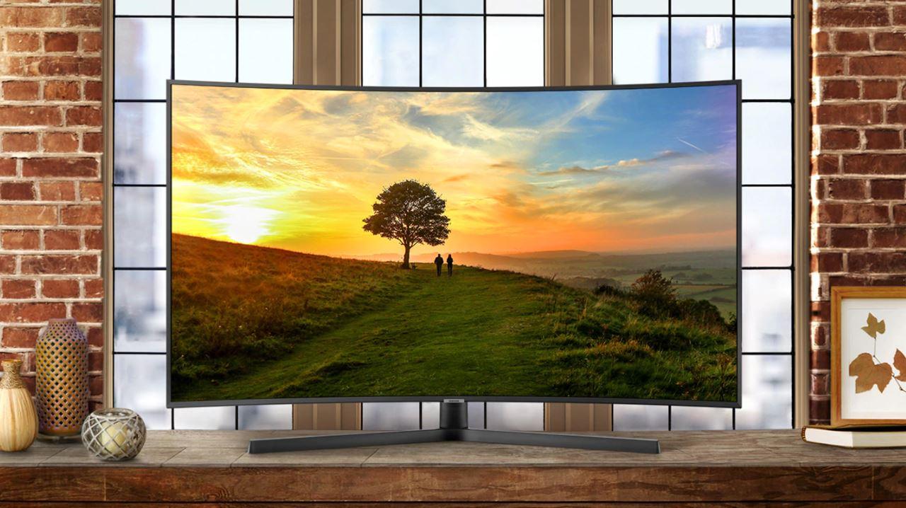 Samsung UE55NU7500, tv curva