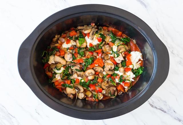 паста с сыром и грибами легкое приготовление в мультиварке