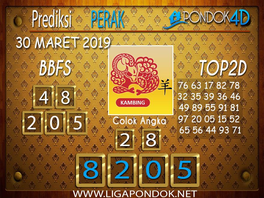 Prediksi Togel PERAK PONDOK4D 30 MARET 2019