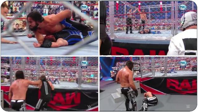 Seth venció a Dominik en Steel Cage