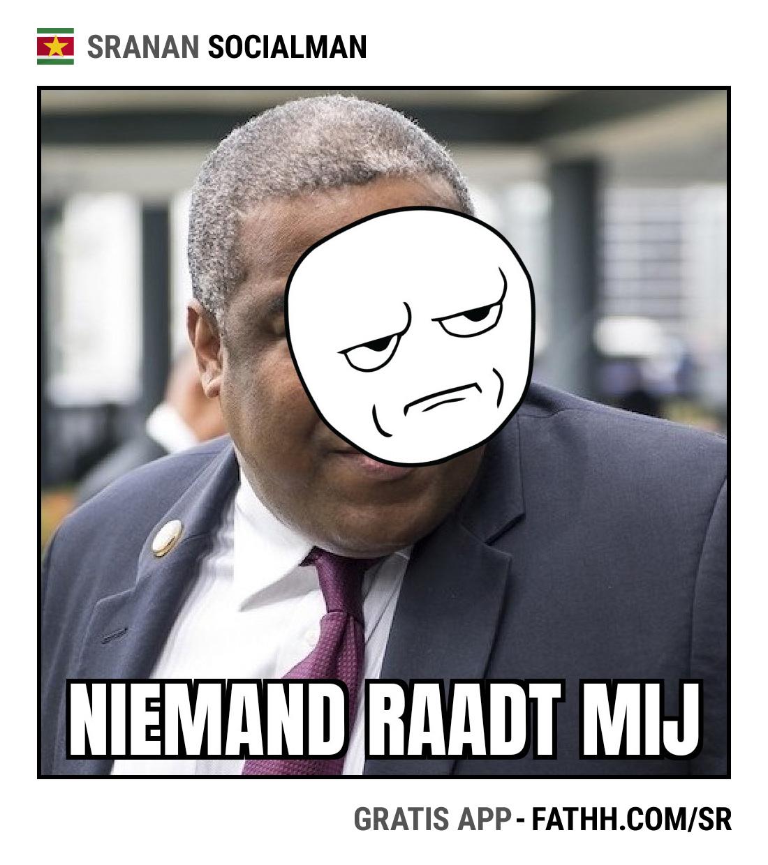 Sranan Socialman : Niemand Raad Mij