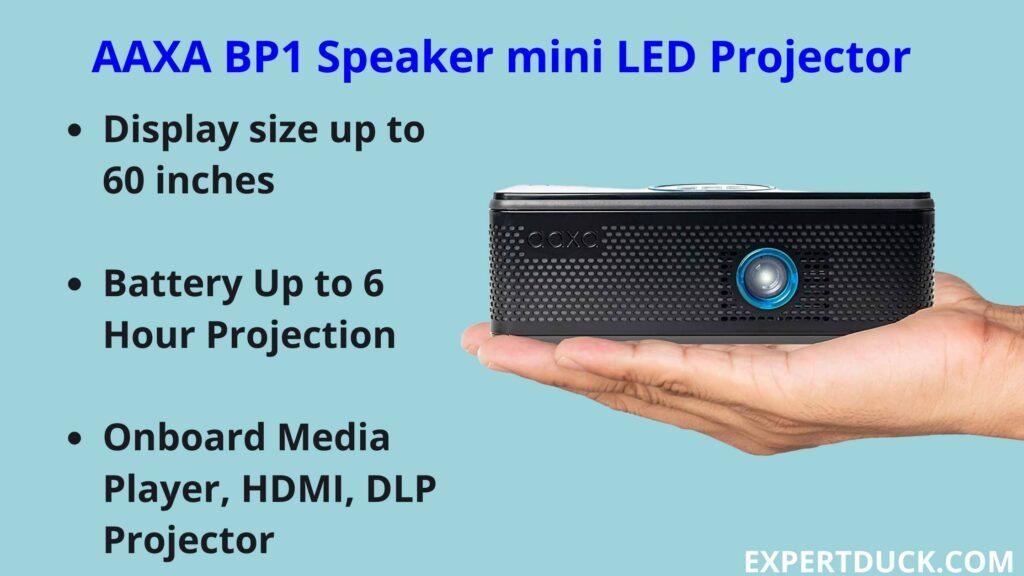 AAXA BP1 Speaker mini LED Projector