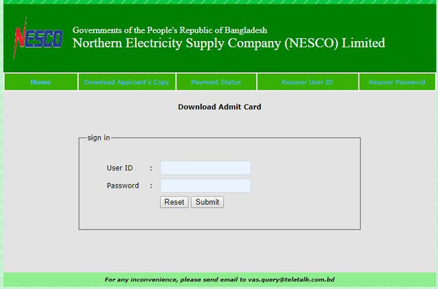 nesco-job-circular-admit-card