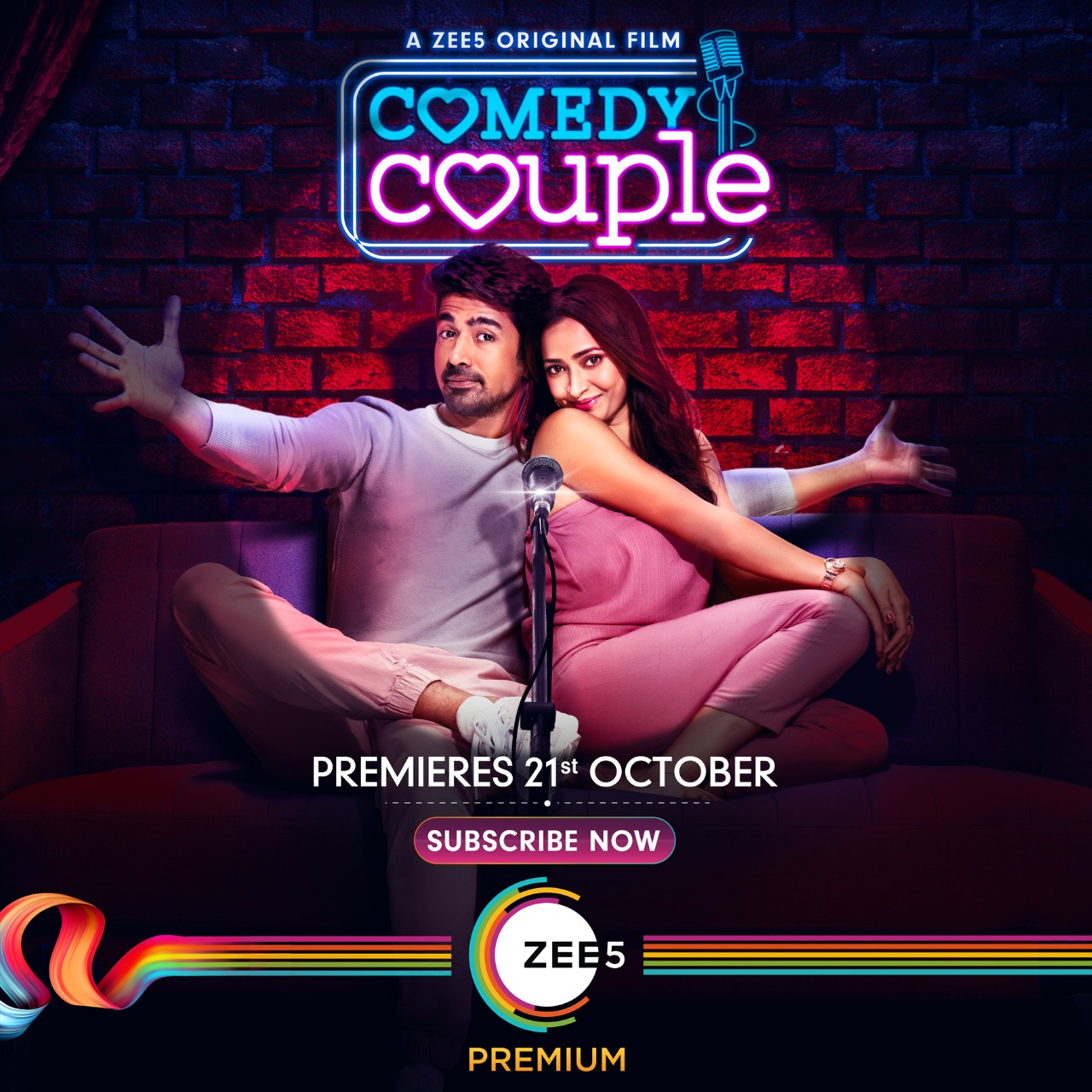 Comedy Couple 2020 Hindi 720p ZEE5 HDRip 800MB | 350MB Watch Online