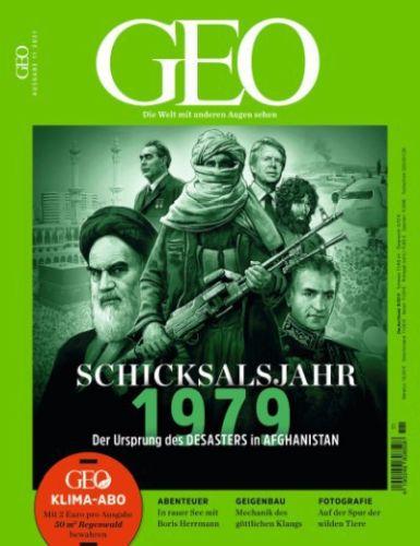 Cover: Geo Magazin die Welt mit anderen Augen sehen No 11 Novmber 2021