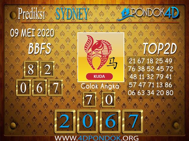 Prediksi Togel SYDNEY PONDOK4D 09 MEI 2020