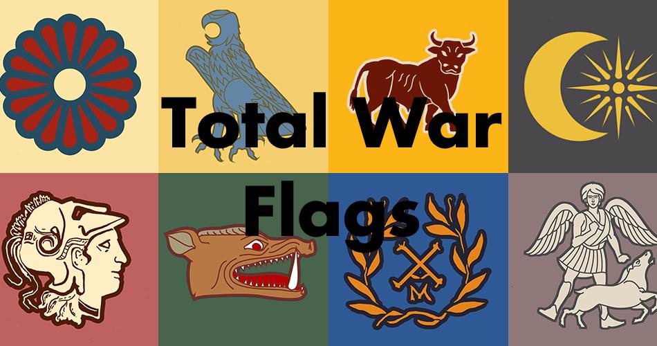 Total War Flags / Флаги из Total War