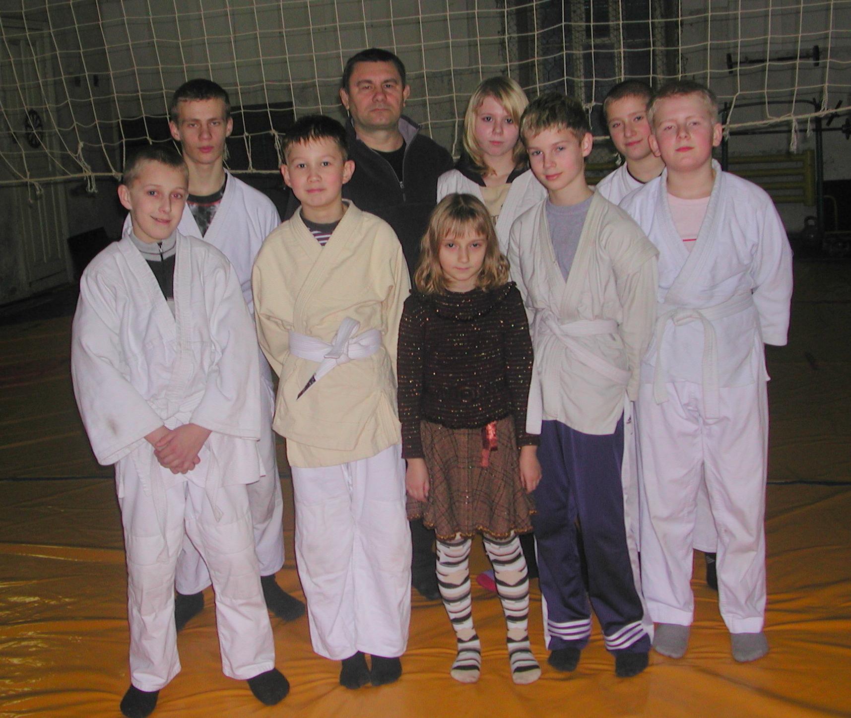 Grupa Judo (antrenor S.Cotolupenco)