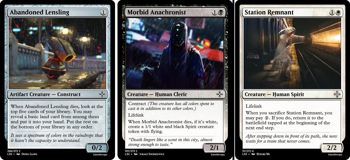 Abandoned Lensling, Morbid Anachronist, Station Remnant