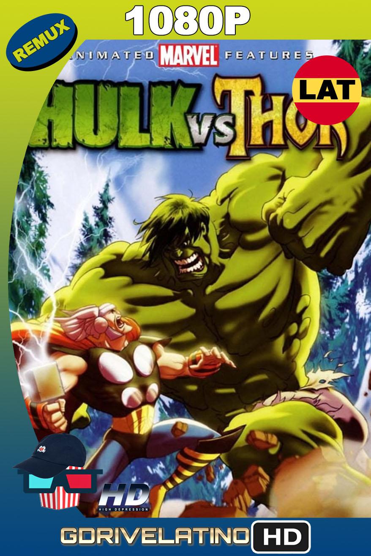 Hulk vs. Thor (2009) BDRemux 1080p Latino-Inglés MKV