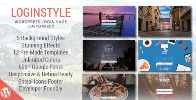 WordPress Login Page Styler Plugin