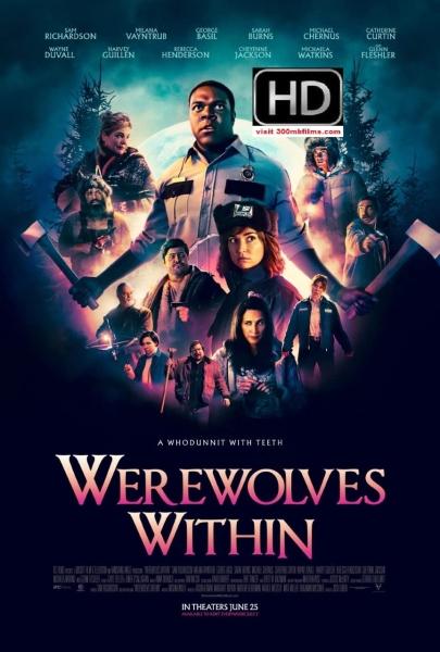 Werewolves Within (2021) 720p WEB-DL 575MB nItRo