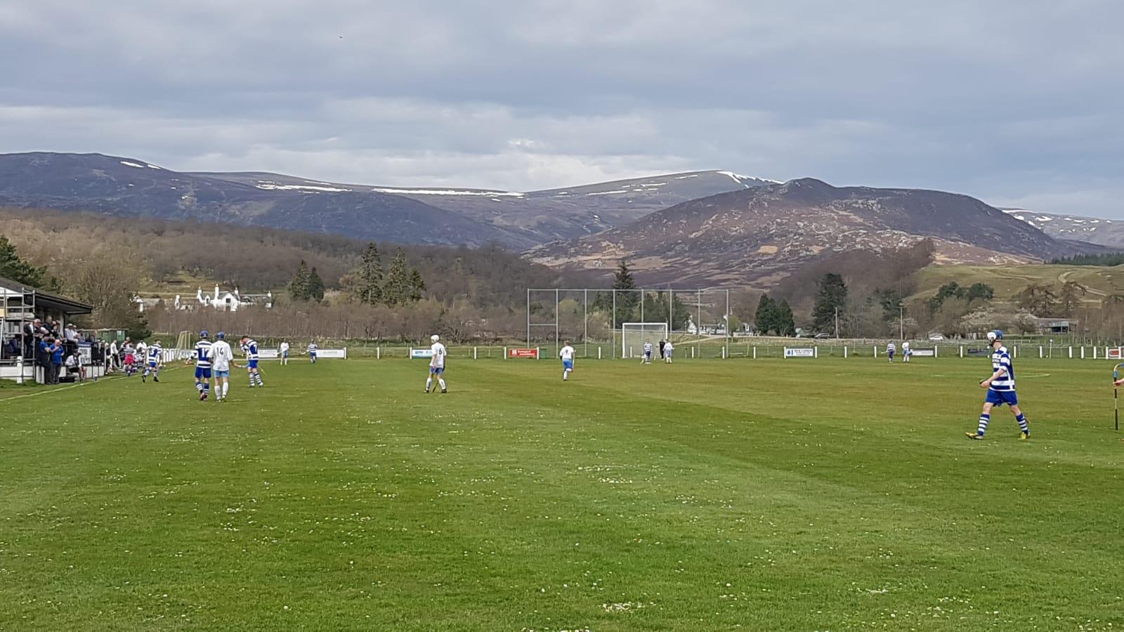 Newtonmore Shinty Pitch, Scottish Highlands