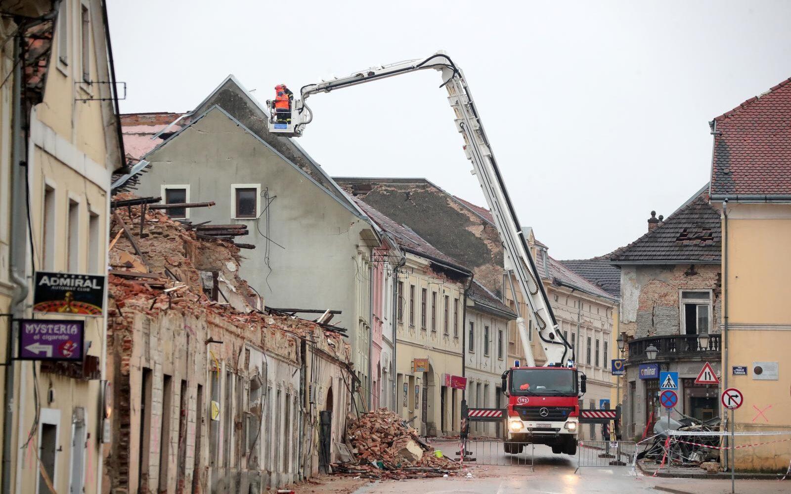 Novi potres kod Petrinje u Hrvatskoj, magnituda 4.0 po Richteru!