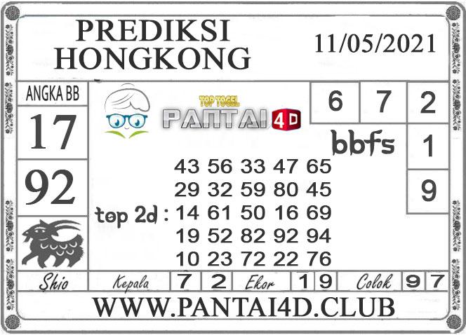 PREDIKSI TOGEL HONGKONG PANTAI4D 11 MEI 2021