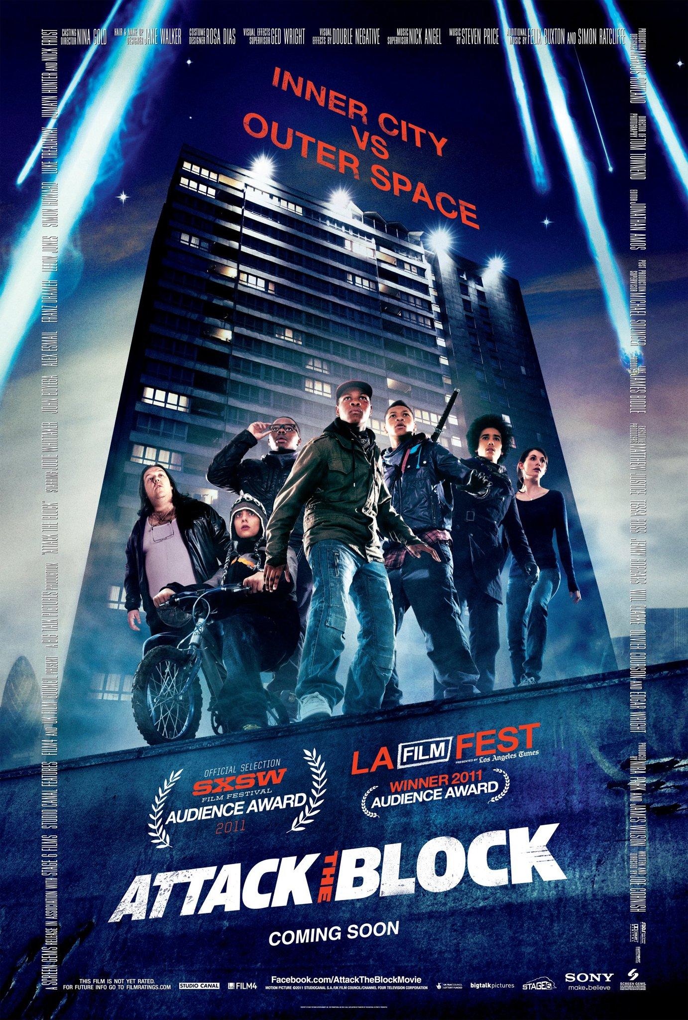 თავდასხმა კვარტალზე ATTACK THE BLOCK