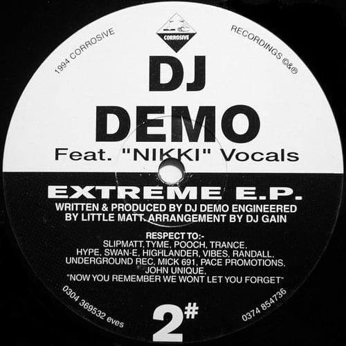 Download DJ Demo Feat. Nikki - Extreme E.P. mp3
