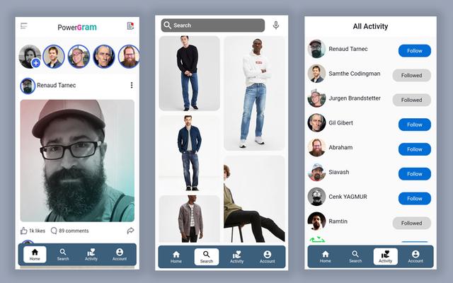 Material Design - Flutter Ui Kit Android - 22