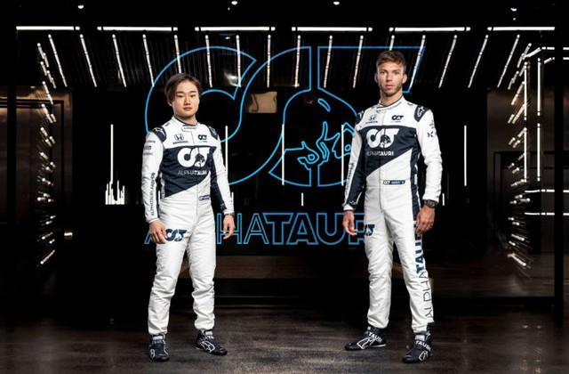 F1 2021 : La Scuderia AlphaTauri a présenté sa nouvelle Formule 1, baptisée AT02 2021-launch-gallery2-scuderia-alphatauri