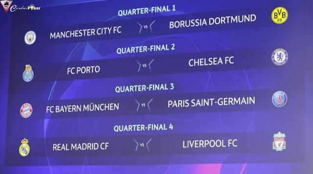 Hasil Undian Perempat Final Liga Champions, Duel Dua Ulangan Final