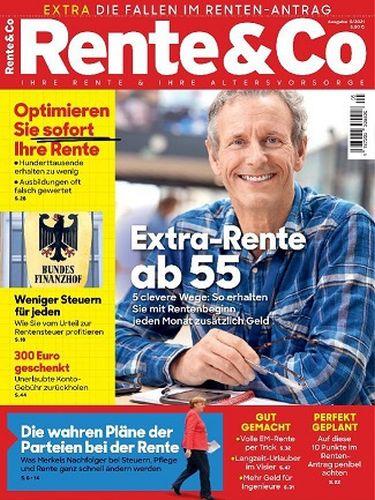 Cover: Rente & Co Magazin No 05 2021