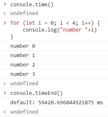 console.times example