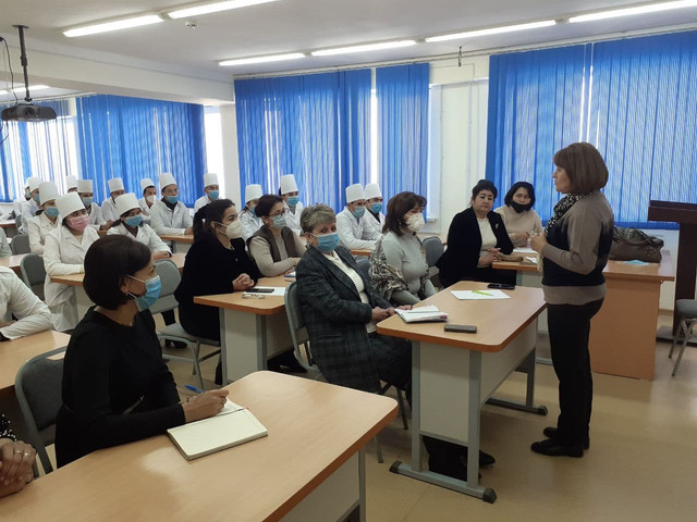 """At the department of """"Uzbek language and literature, languages""""  of Urgench branch of Tashkent Medical Academy  was held a seminar on credit-module system"""